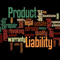 Product Liability, word cloud concept 4